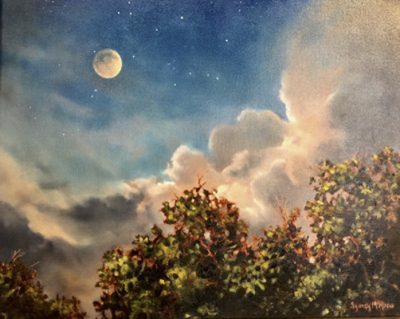 Butterfield Gallery Artist, Sydney McKenna's Atmospheric Oil Paintings