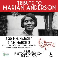 Tribute to Marian Anderson