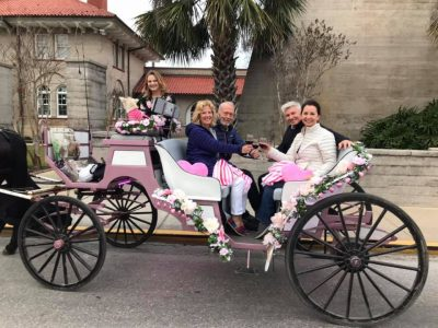 Valentine Carriage Rides and Culinary Pairing Tours