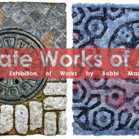 Grate Works of Art and The Painted Selfie Exhibition Opening