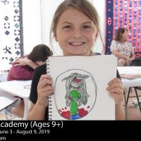Art Academy Summer Camps for Ages 9 and Up