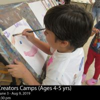 Summer Art Camp Mini Creators (Ages 4 - 5)