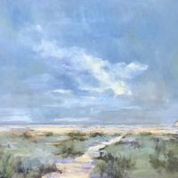 Sandra Hughes and Midge Scelzo featured at Village Arts Framing and Gallery