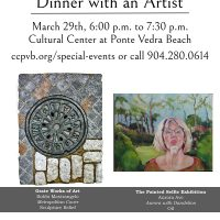 Dinner with an Artist featuring Ellen Diamond and ...