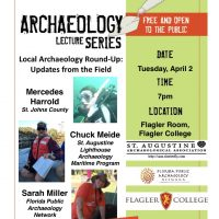 St Augustine Archaeological Assoc Monthly Meeting