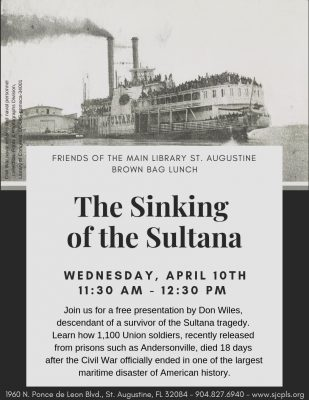 Wednesday Brown Bag Lunch Program: The Sinking of ...