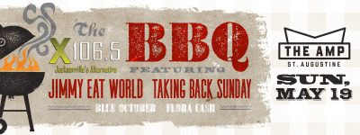 X106.5's BBQ featuring Jimmy Eat World and Taking Back Sunday with Blue October and Flora Cash