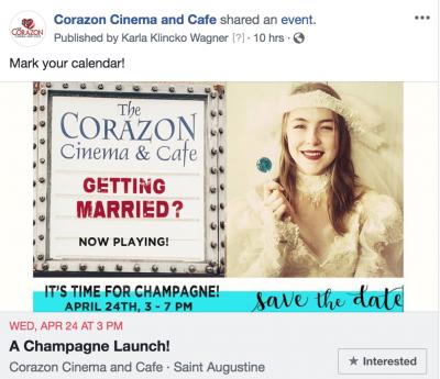 Champagne Wedding Launch