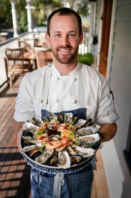 Chef Brian Whittington at Preserved Restaurant