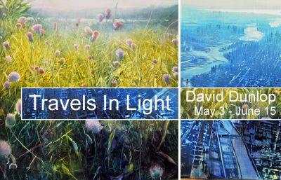 Travels in Light David Dunlop Exhibition Reception