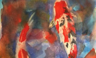 Creative Watercolor Exploration with Elaine Bergstrom Begins