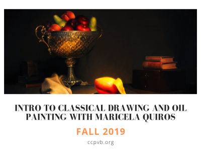 Intro to Classical Drawing and Oil Painting with Maricela Quiros