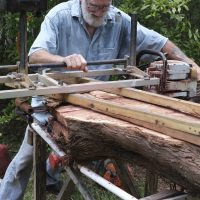 "Feature Artist Jim Rivers, a ""Wizard of Wood"" ..."