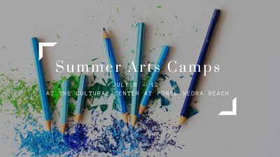 Summer Arts Camps, July 8th to 12th