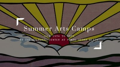 Summer Arts Camps, July 15th to 19th