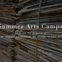 Summer Arts Camps, July 29th to August 2nd