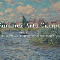 Summer Arts Camps, August 5th to 9th