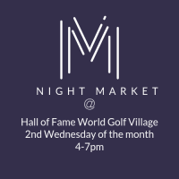 Night Market at Hall of Fame World Golf Village