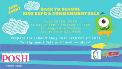 Back to School Kids Expo & Consignment Sale