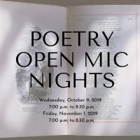 Free Poetry Open Mic Night with Ancient City Poets
