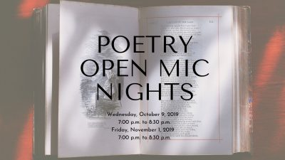 Free Poetry Open Mic Night with Ancient City Poets...