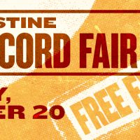 Fall 2019 St. Augustine Record Fair