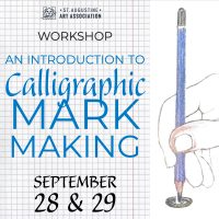 Introduction to Calligraphic Mark Making
