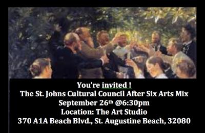 St. Johns Cultural Council's After Six Arts Mix