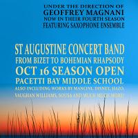 Saint Augustine Concert Band Season Opener