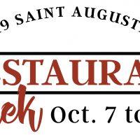 St. Augustine Restaurant Week