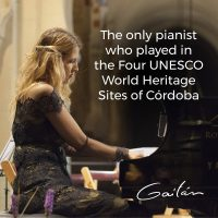 International pianist Maria Dolores Gaitán to host VIP concert and reception