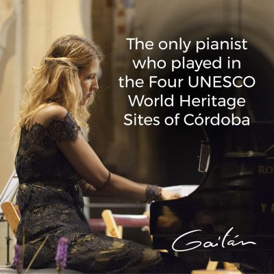 International pianist Maria Dolores Gaitán to hos...