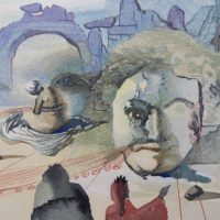 First Friday Art Walk featuring works by Salvador Dali