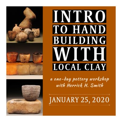 Intro to Hand Building with Local Clay