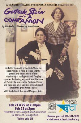 Gertrude Stein and A Companion by Winn Wells- A St...