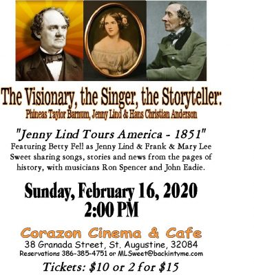 The Visionary, the Singer, the Storyteller: Jenny Lind Tours America - 1851