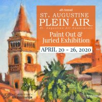 4th Annual St. Augustine Plein Air Paint Out