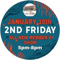 "The Art Studio & Gallery ""2nd Friday"" Art Walk Features All Members"