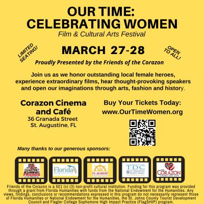 Our Time: Celebrating Women - Film & Cultural Arts Festival