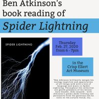 Ben Atkinson Poetry Reading