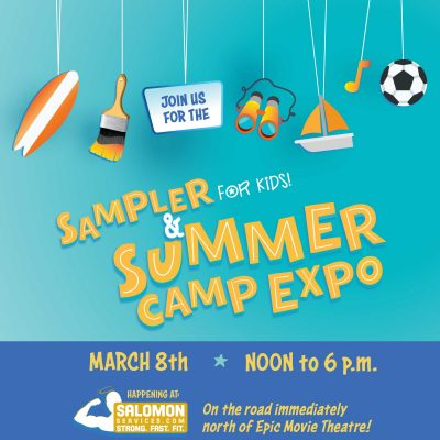 Sampler for Kids and Summer Camp Expo