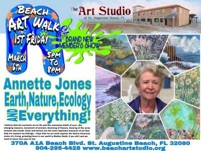 CANCELLED The Art Studio & Gallery presents: Annette Dexter Jones Featured Artist