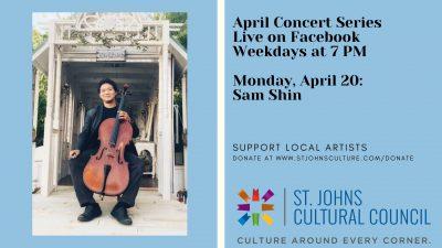 April Concert Series: Sam Shin
