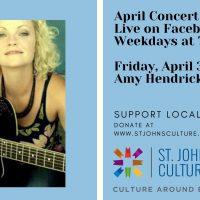 April Concert Series: Amy Hendrickson