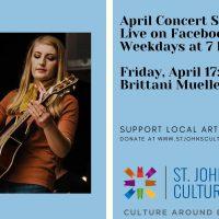 April Concert Series: Brittani Mueller