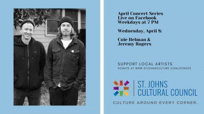 April Concert Series: Cole Helman & Jeremy Rog...