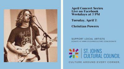April Concert Series: Christian Powers