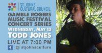 Gamble Rogers Music Festival: Todd Jones