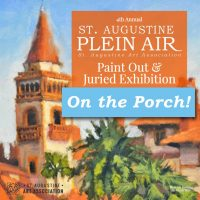 St. Augustine Plein Air On The Porch