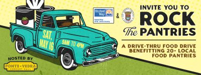 "ROCK the Pantries: A ""Drive-Thru"" Food Drive"